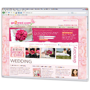 Robust database and website solution for a Rochester MN based wedding service company
